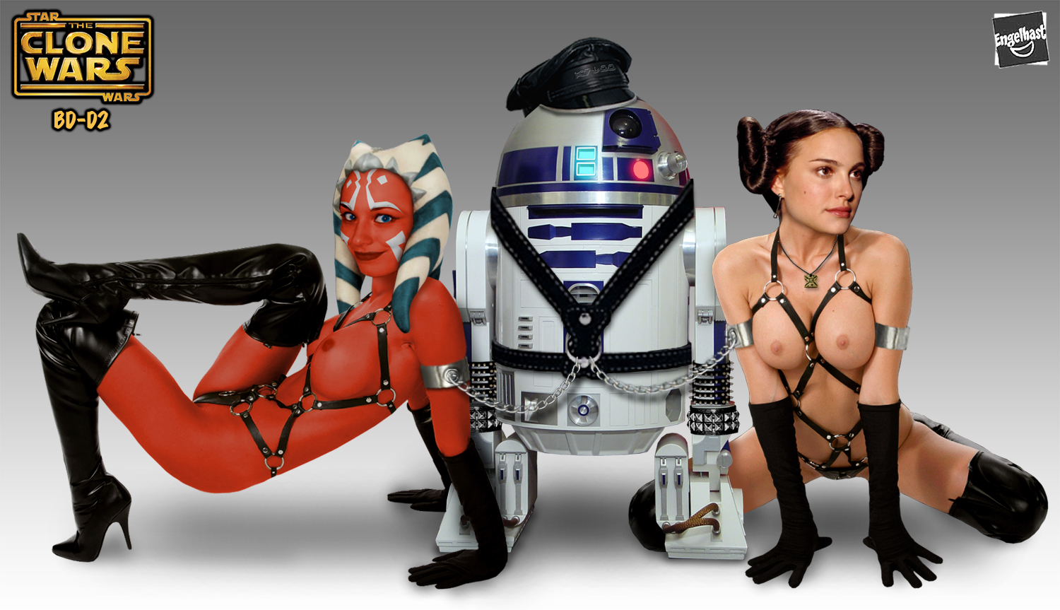Sexy naked star wars smut photo