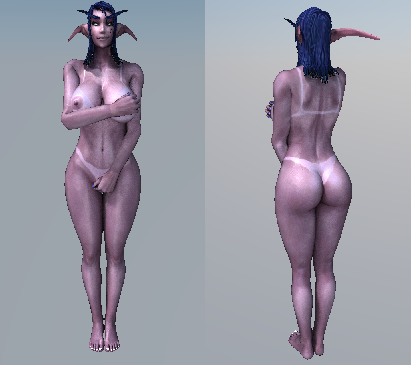 Night elf literotica nude photo